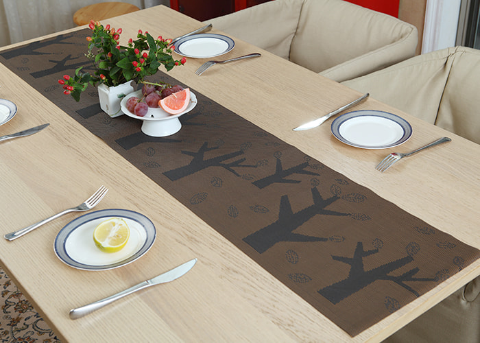 Jacquard Series PVC Anti-Scalding And Heat-Insulating Table Runner