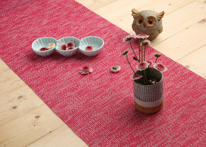 Cotton Heat Resistant Table Runner(Red)
